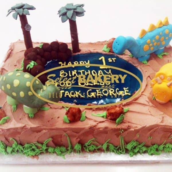 Birthday Cake - Dino