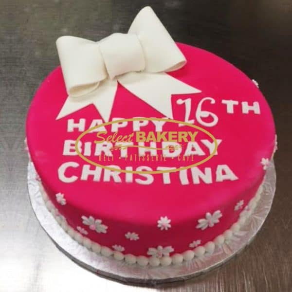 Birthday Cake - PinkRibbon