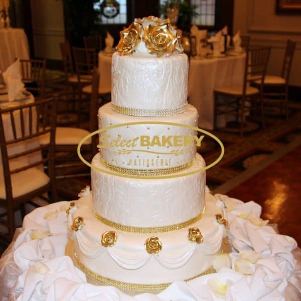Wedding Cake2- Select Bakery