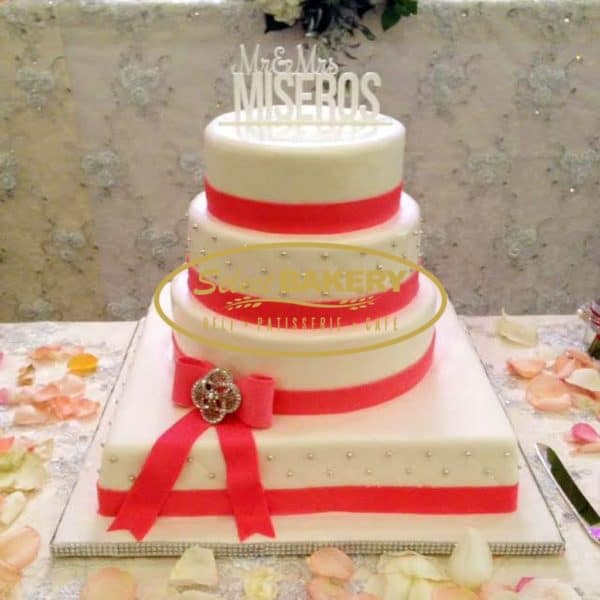 Select Bakery Wedding Cake 1952