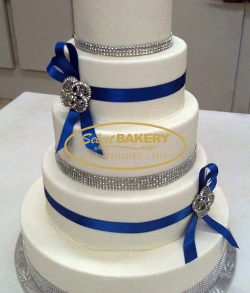Wedding Cake Diamond - Select Bakery