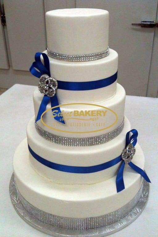 Wedding Cake Diamond - Select Bakery
