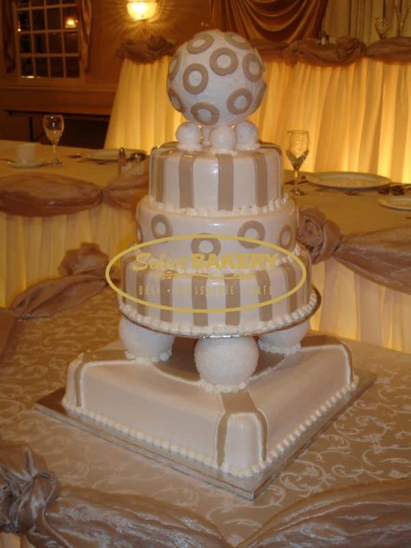 Wedding Cake Ball- Select Bakery
