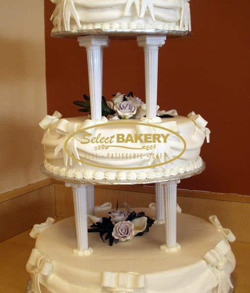Wedding Cake Pillars - Select Bakery