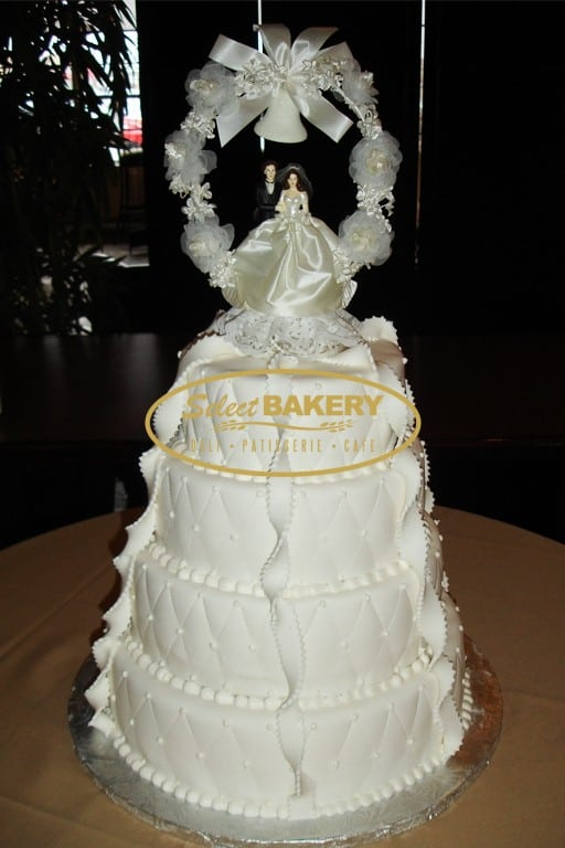 Wedding Cake 4 Tiered - Select Bakery