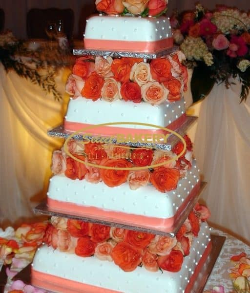 Wedding Cake Roses - Select Bakery