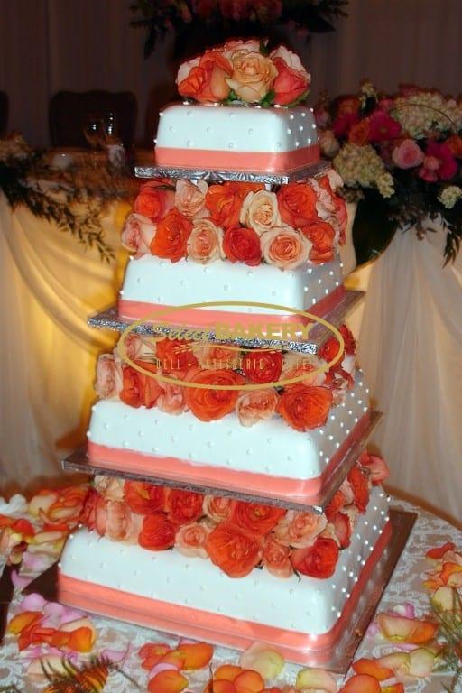 Wedding Cake Roses - Select Bakery