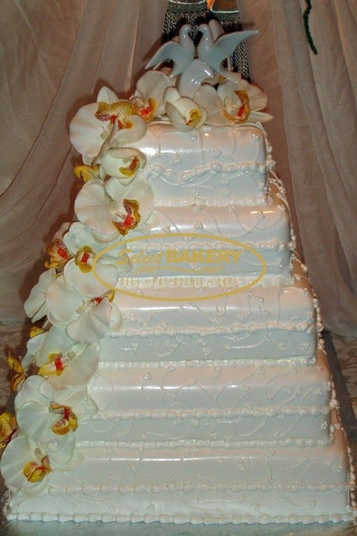 Wedding Cake Orchid - Select Bakery