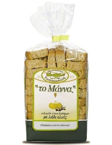 MANNA OLIVE OIL RUSKS (PAXIMADIA)