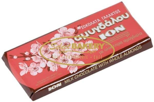 ION ALMOND CHOCOLATE 200G