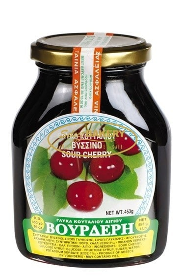 VOURDERIS SOUR CHERRY 454g