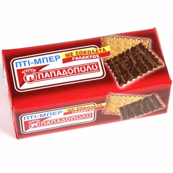 PAPADOPOULOS PETIT - BEURRE BISCUIT W. CHOCOLATE