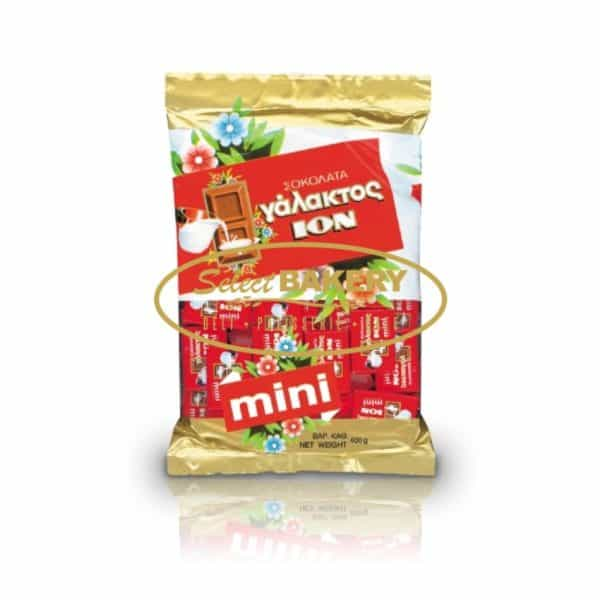 ION MILK CHOCOLATE MINI BARS- 400G