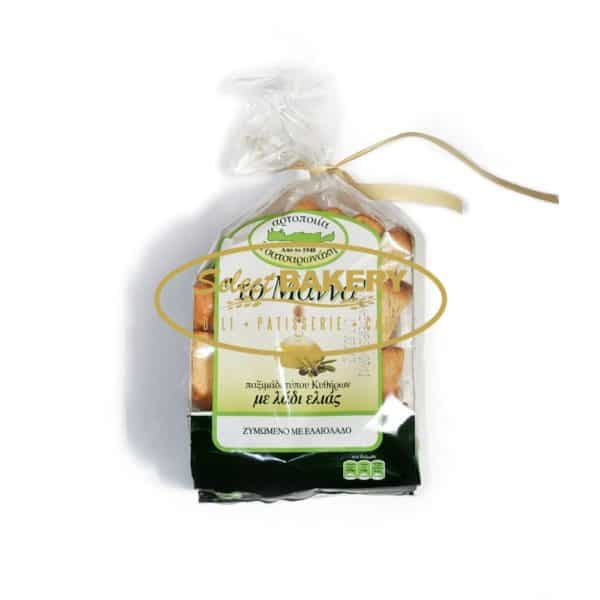 MANNA OLIVE OIL RUSKS (PAXIMADIA) - 600g