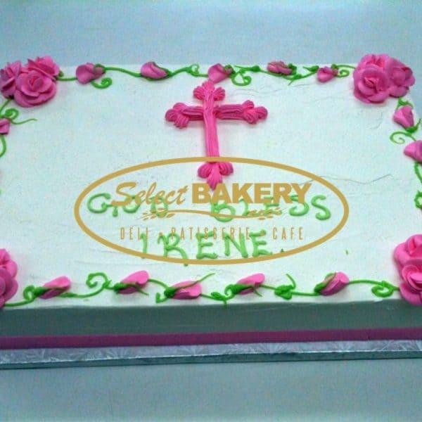 Baptism Cake- Photo