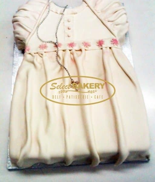 Baptism Cake - Baby Dress