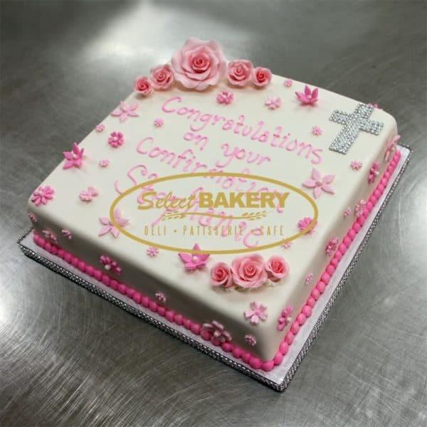 Baptism Cake - Welcome