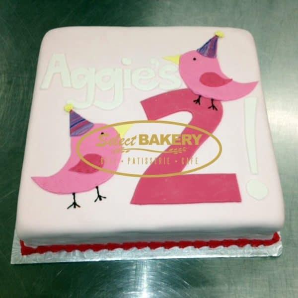 Birthday Cake - Greek