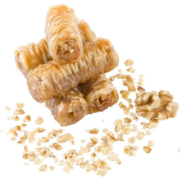 Pourakia-Baklava-Roll-Walnut-Select-Bakery