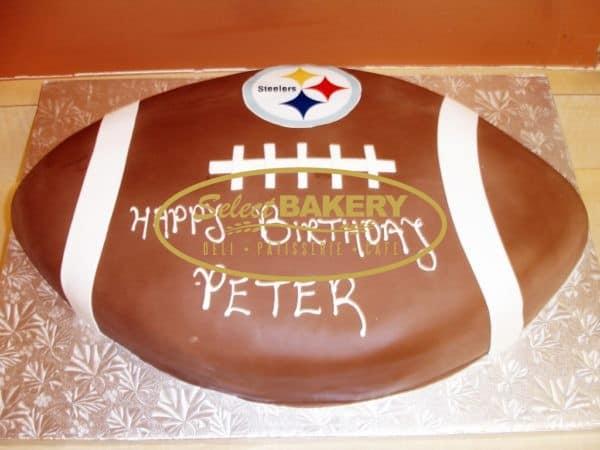 Birthday Cake - Football 371