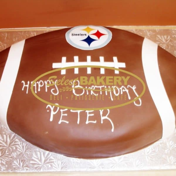Birthday Cake - Football 371