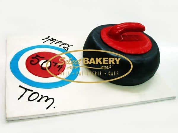 Birthday Cake - Curling