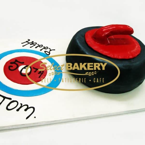 Birthday Cake - Curling