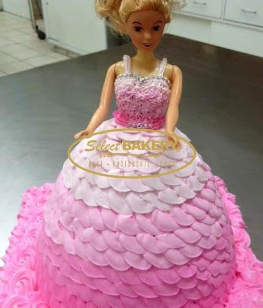Birthday Cake - Barbie