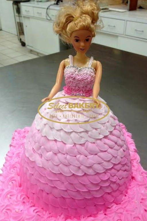 Birthday Cake - Barbie