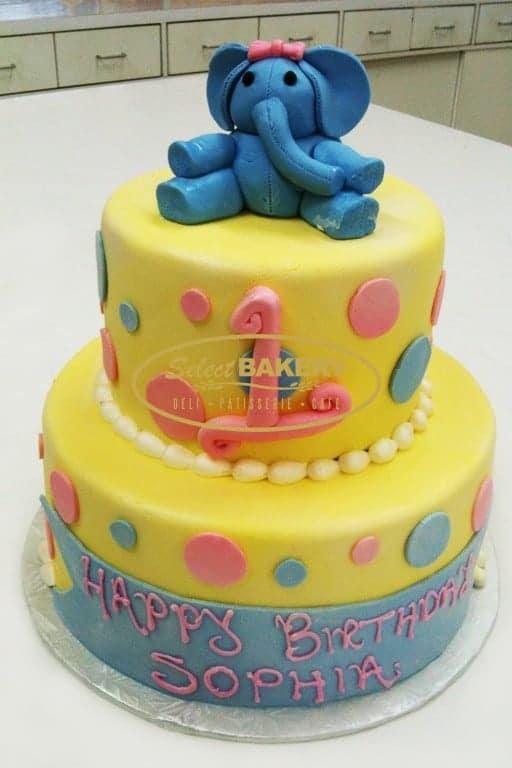 Birthday Cake - Elephant