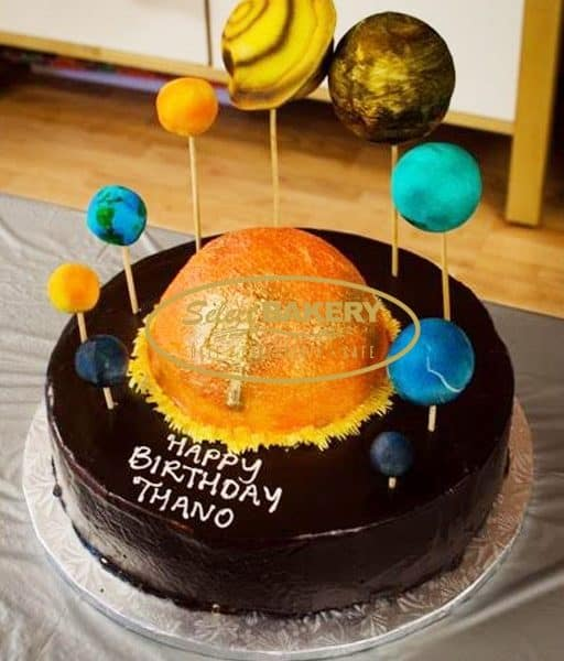 Birthday Cake - Space