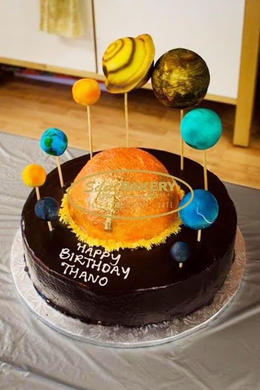 Birthday Cake - Space
