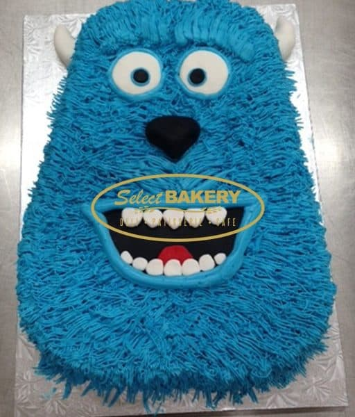 Birthday Cake - Monster