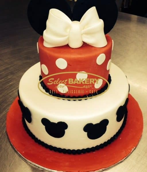 Birthday Cake - Minnie 446