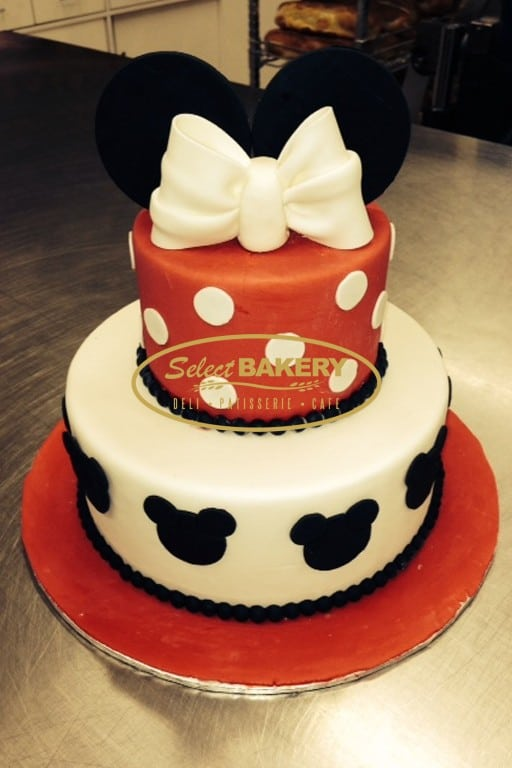 Birthday Cake - Minnie 446