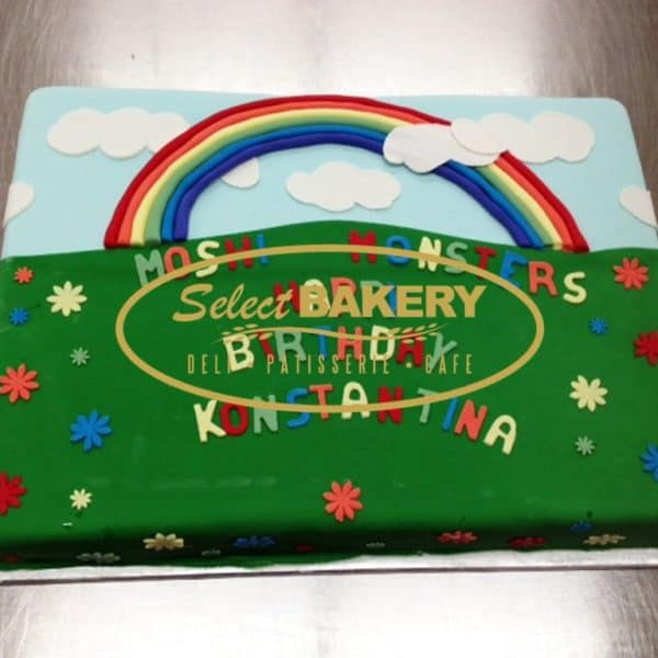 Birthday Cake - Rainbow