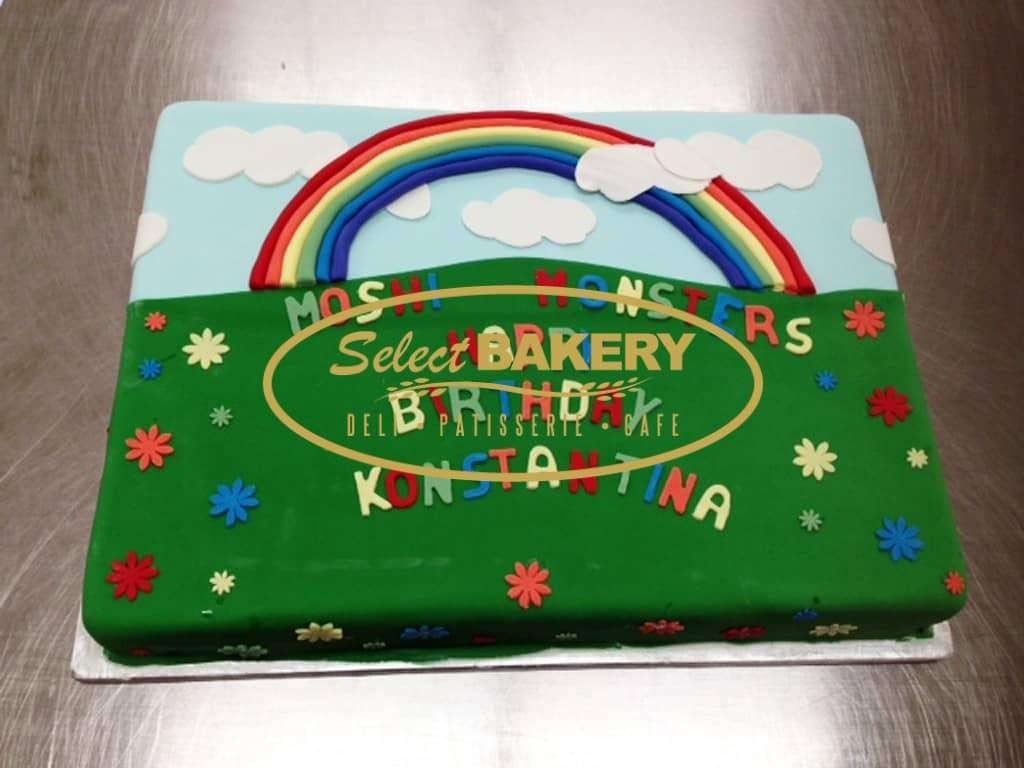 Birthday Cake Rainbow 467 Select Bakery