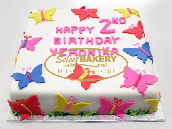Birthday Cake - Butterfly