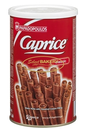 PAPADAPOULOS CAPRICE Wafers with Hazelnuts - 250g