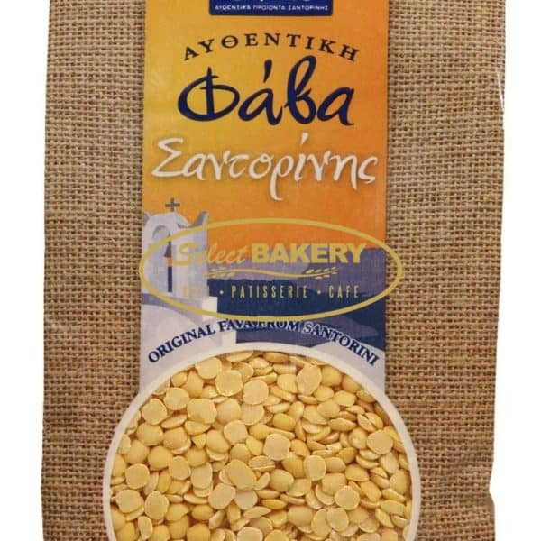 Santorini Fava Beans (PDO) Santo - Split Peas 400g