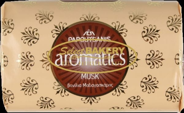 PAPOUTSANIS Aromatics Musk Soap Bar 125 g