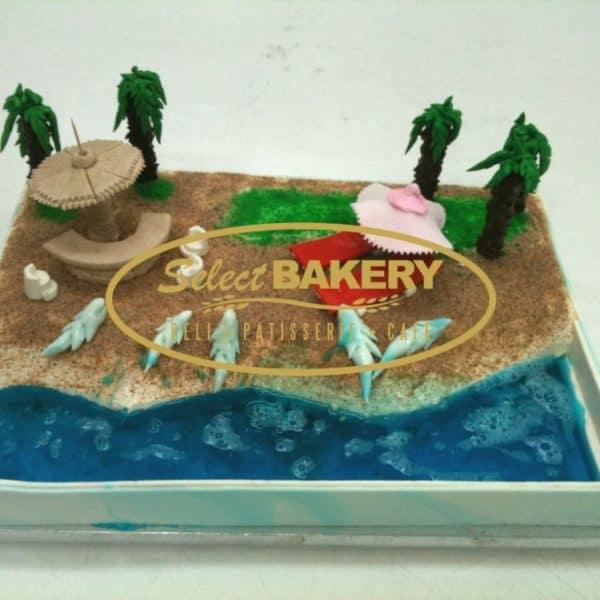 Birthday Cake- Shark 354