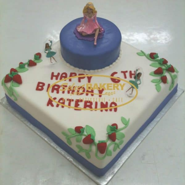 Birthday Cake- Mini Barbie - 353