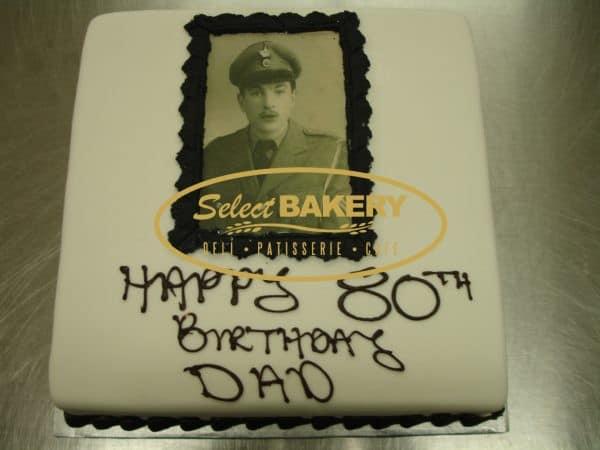 Birthday Cake - Photo Printed 422