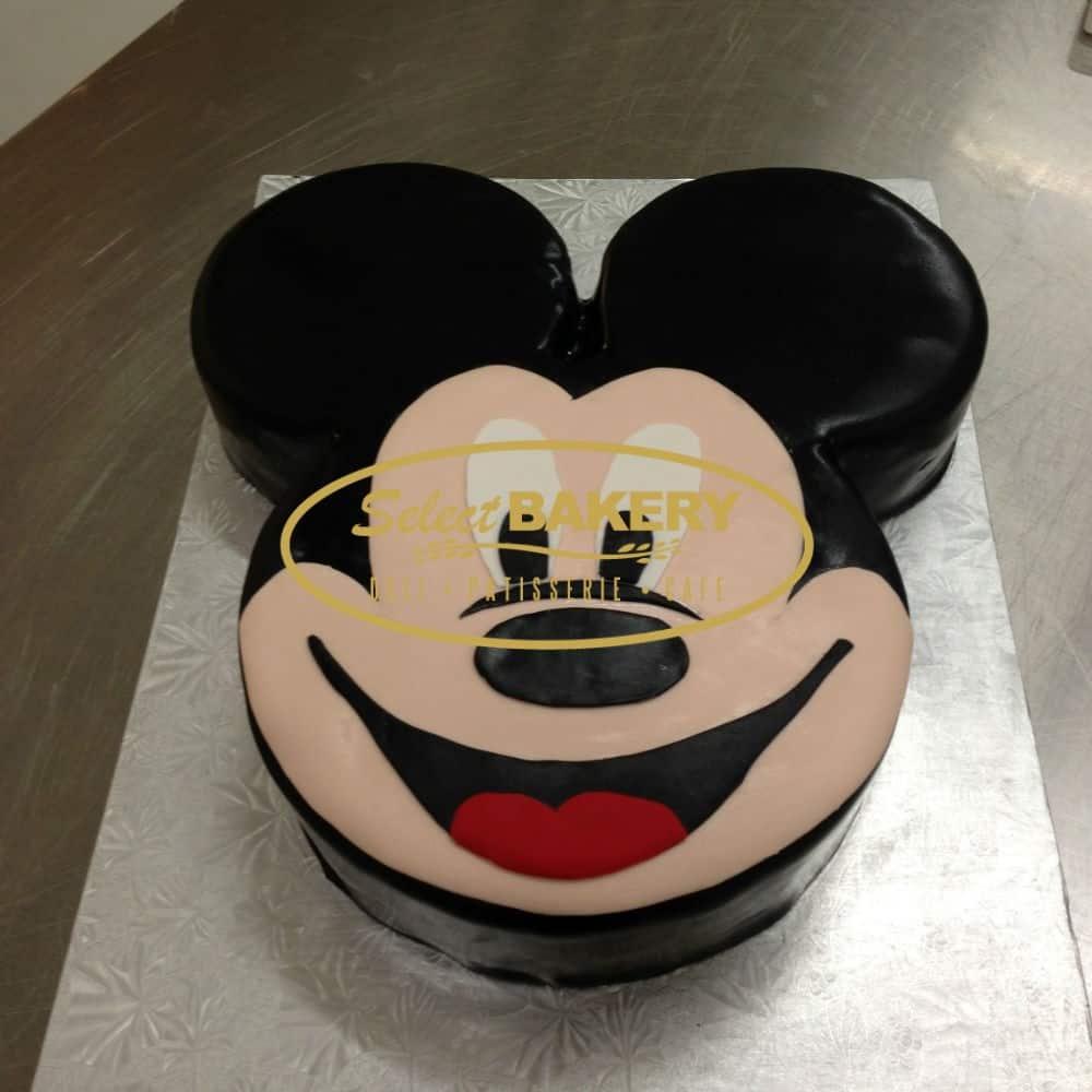 Peachy Birthday Cake Mickey Mouse Disney 432 Select Bakery Personalised Birthday Cards Paralily Jamesorg