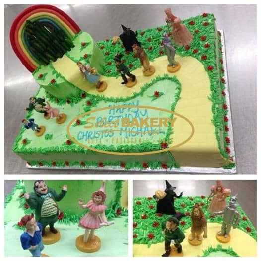 Select Bakery Birthday Cake Wizard of Oz