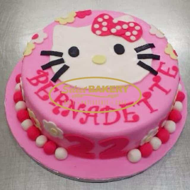 Astounding Birthday Cake Hello Kitty 507 Select Bakery Funny Birthday Cards Online Alyptdamsfinfo