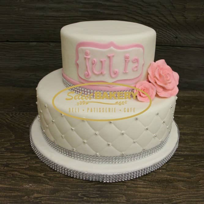 Phenomenal Birthday Cake 549 White Pearl Select Bakery Funny Birthday Cards Online Alyptdamsfinfo