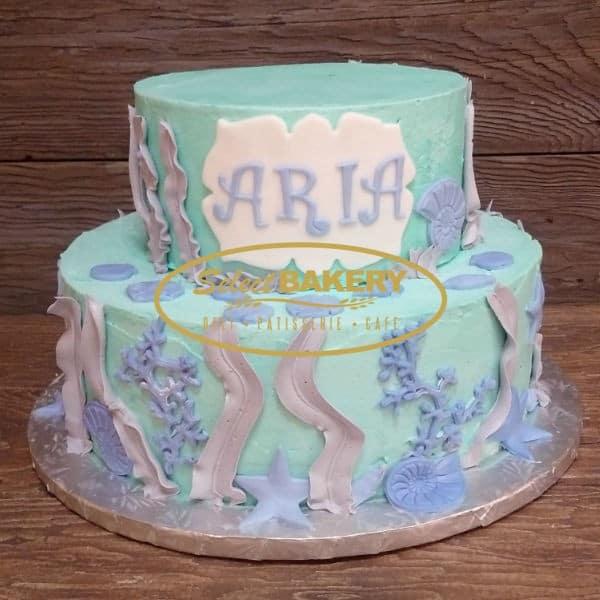 Birthday Cake - Under the Sea Mermaid