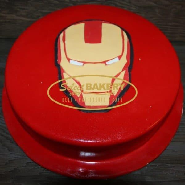 Birthday Cake - 556 Iron Man